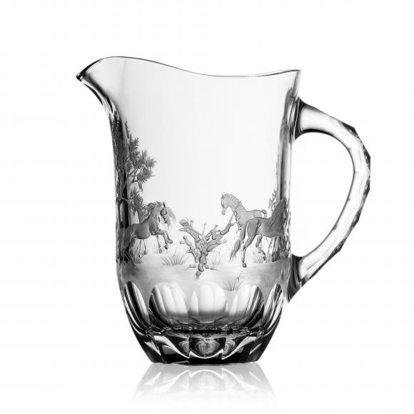 Run 4 Roses Clear Water Pitcher 1,0 Liter