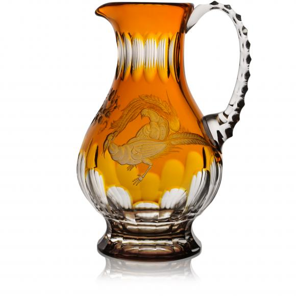Gold Aves Amber Water Pitcher 1,0 Liter
