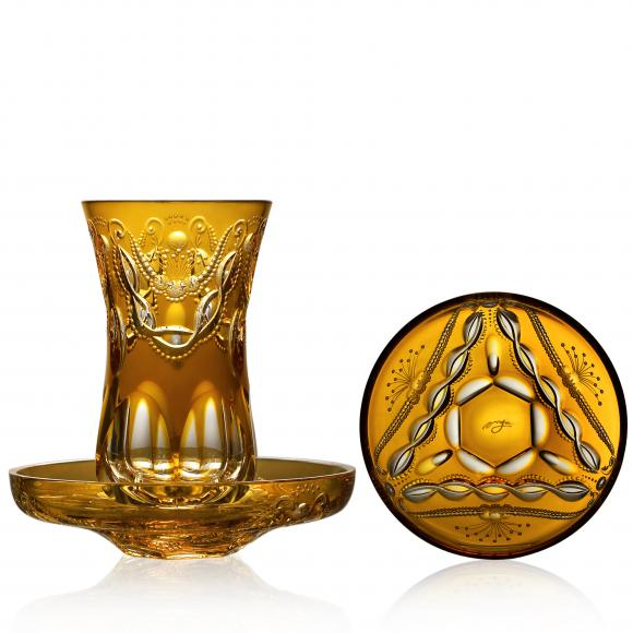 Saint Tropez Amber Arabic Tea Set