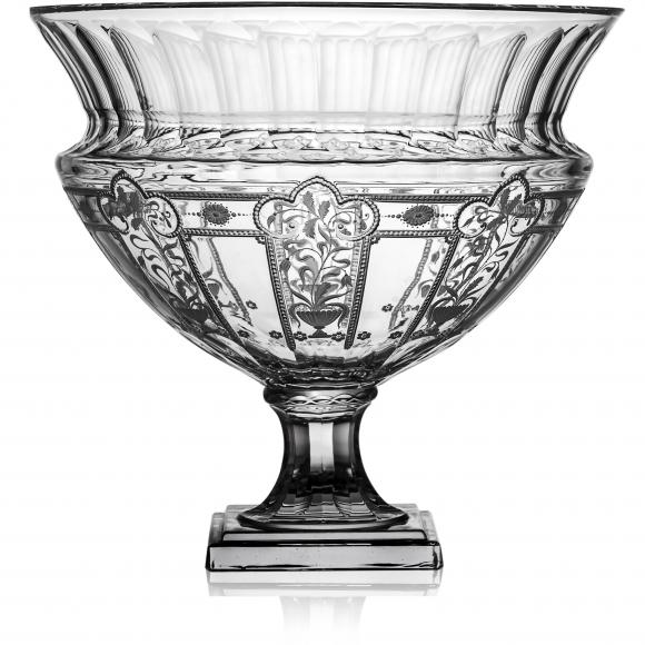 Imperial Clear Footed Centerpiece 16
