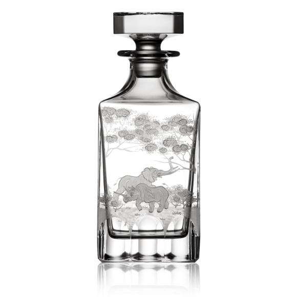 Safari Clear Whiskey Decanter 0,75 Liter