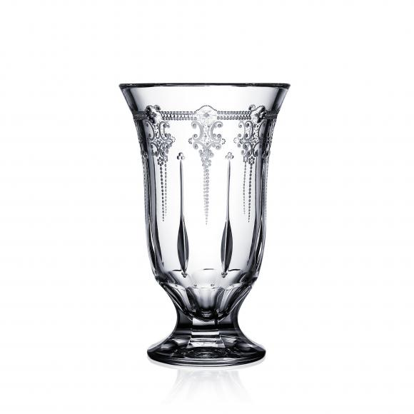 Lisbon Clear Footed Vase 8