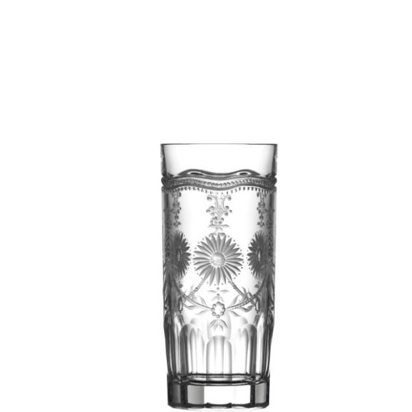Royal Scroll Clear Highball