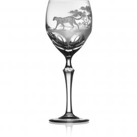 Safari Clear Wine Leopard