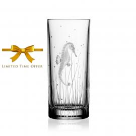Pacifica Clear Highball Seahorse