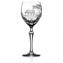 Safari Clear Wine Rhino