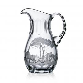 Safari Clear Water Pitcher