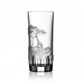 Safari Clear Highball Giraffe
