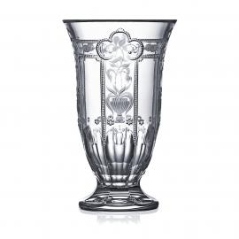 Imperial Clear Footed Vase 10