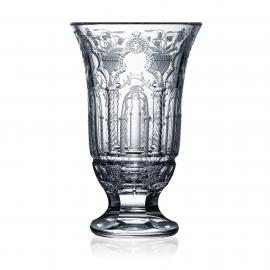 Athens Clear Footed Vase 8