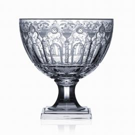 Athens Clear Footed Bowl 11