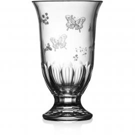 Springtime Clear Footed Vase 12