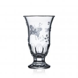 Springtime Clear Footed Vase 8