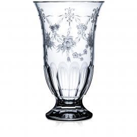 Versailles Clear Footed Vase 12