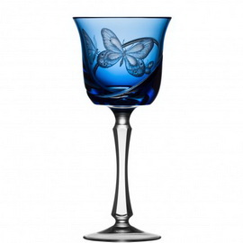 Metamorphoses Sky Blue Water Goblet Raynaud Limoges©