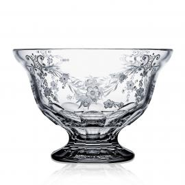 Versailles Clear Footed Bowl 10