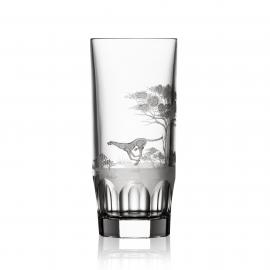 Safari Clear Highball Cheetah
