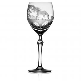 Safari Clear Wine Zebra