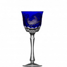 Gold Aves Cobalt Wine Hock Royal Crown Derby©