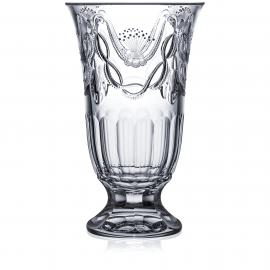 Saint Tropez Clear Footed Vase 12