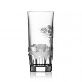 Safari Clear Highball Hippo