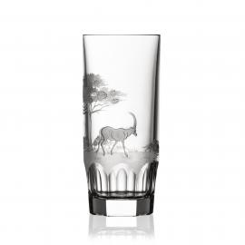 Safari Clear Highball Antelope