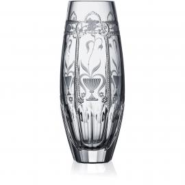Imperial Clear Barrel Vase 8