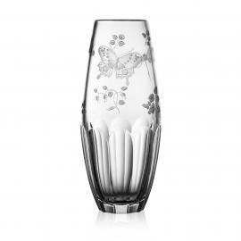 Springtime Clear Barrel Vase 8