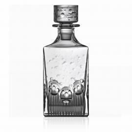 Milano Clear Whiskey Decanter 0.75 Liter