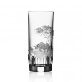 Safari Clear Highball Rhino
