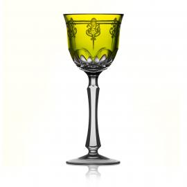 Elegance Yellow-Green Wine Hock