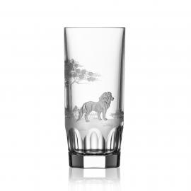 Safari Clear Highball Lion