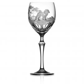 Safari Clear Wine Lion