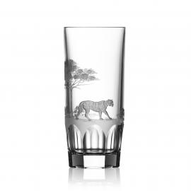 Safari Clear Highball Tiger