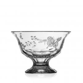 Springtime Clear Footed Bowl 8